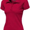 Game Damen Poloshirt - rot