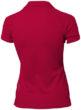 Game Damen Poloshirt - rotRückenansicht