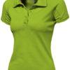 Game Damen Poloshirt - apfelgrün