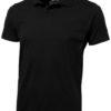 Let Poloshirt - schwarz