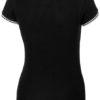 Deuce Damen Poloshirt Slazenger - schwarz