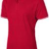 Deuce Poloshirt Slazenger - rot