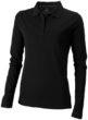 Oakville Damen Poloshirt ELEVATE - schwarz