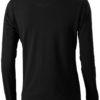 Oakville Damen Poloshirt ELEVATE - schwarzRückenansicht