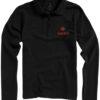 Oakville Damen Poloshirt ELEVATE - schwarz mit Logo