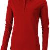 Oakville Damen Poloshirt ELEVATE - rot