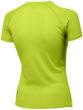 Serve Damen T Shirt Slazenger - apfelgrünRücken