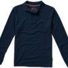 Point Poloshirt langärmlig Slazenger - navy