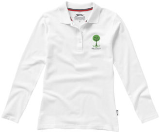 Point Damen Poloshirt langärmlig Slazenger
