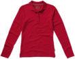 Point Damen Poloshirt langärmlig Slazenger - rot