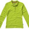 Point Damen Poloshirt Slazenger - apfelgrün
