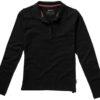 Point Damen Poloshirt Slazenger - schwarz