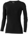 Curve Damen T-Shirt langärmlig Slazenger - schwarz