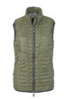 Ladies Lightweight Vest James & Nicholson - olive/silver