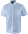 Stirling Hemd kurzärmlig ELEVATE - blau meliert