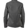 Ladies Softshell Jacket James & Nicholson - Rückenansicht