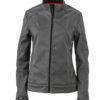 Ladies Softshell Jacket James & Nicholson - dark melange