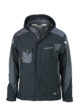 Craftsmen Softshell Jacket James & Nicholson - black/carbon