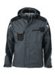 Craftsmen Softshell Jacket James & Nicholson - carbon/black