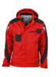 Craftsmen Softshell Jacket James & Nicholson - red/black