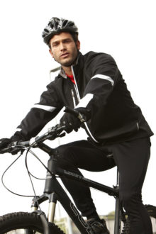 Mens Bike Softshell Jacket
