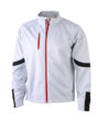 Mens Bike Softshell Jacket - white