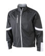 Mens Bike Softshell Jacket - schwarz
