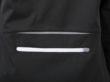 Mens Bike Softshell Jacket - Reiverschluss Tascheam Rücken