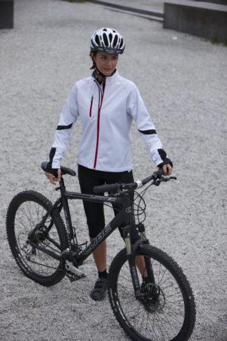 Ladies Bike Softshell Jacket James & Nicholson