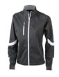 Ladies Bike Softshell Jacket James & Nicholson - schwarz