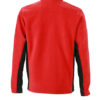 Mens Workwear Fleece Jacket James & Nicholson - Rückenansicht