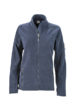 Ladies Workwear Fleece Jacket James & Nicholson - navy/navy