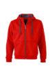 Mens Doubleface Jacket - red/carbon
