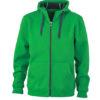 Mens Doubleface Jacket - fern green/graphite