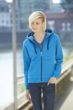Ladies Doubleface Jacket James & Nicholson - azur/navy