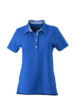 Ladies Plain Polo James & Nicholson - royal/royal white