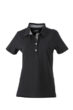 Ladies Plain Polo James & Nicholson - black/black white