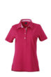 Ladies Plain Polo James & Nicholson - purple/purple white