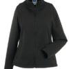 Ladies Smart Softshell Jacket Russel - black