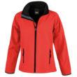 Bedruckbare Damen Soft Shell Jacke Result - red/black