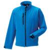 Soft Shell Jacket Russel - azure bluie