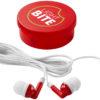Versa Ohrhörer - transparent rot