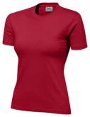 Damen T-Shirt SLAZENGER 150 - rot