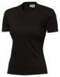 Damen T-Shirt SLAZENGER 150 - schwarz