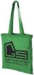 Carolina Baumwolltasche mit langem Henkel - hellgrün