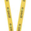 Schlüsselband 20 mm mit Sicherheitsverschluss - gelb
