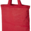 Virginia Baumwolltasche mit kurzen Henkeln - rot