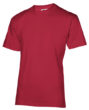 Werbeartikel T-Shirts SLAZENGER 200 - T Shirts indunkelrot
