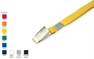 Schlauchband 10 mm mit Metallklammer
