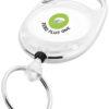 Gerlos Schlüsselanhänger mit Rollerclip - transparent